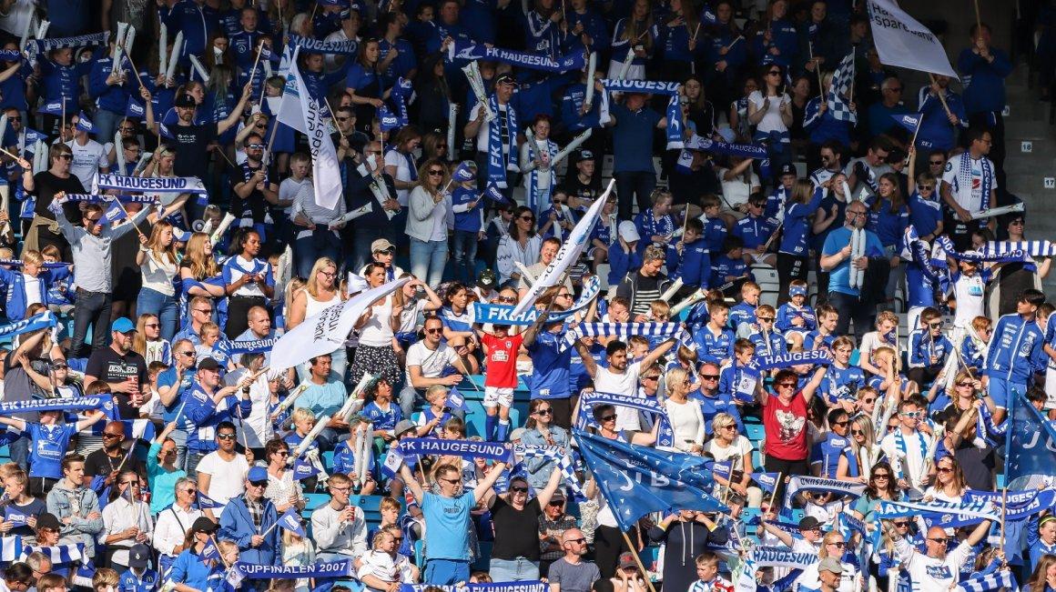 Full stadion på Vestlandsderbyet!