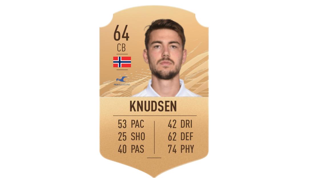 Knudsen FIFA Card