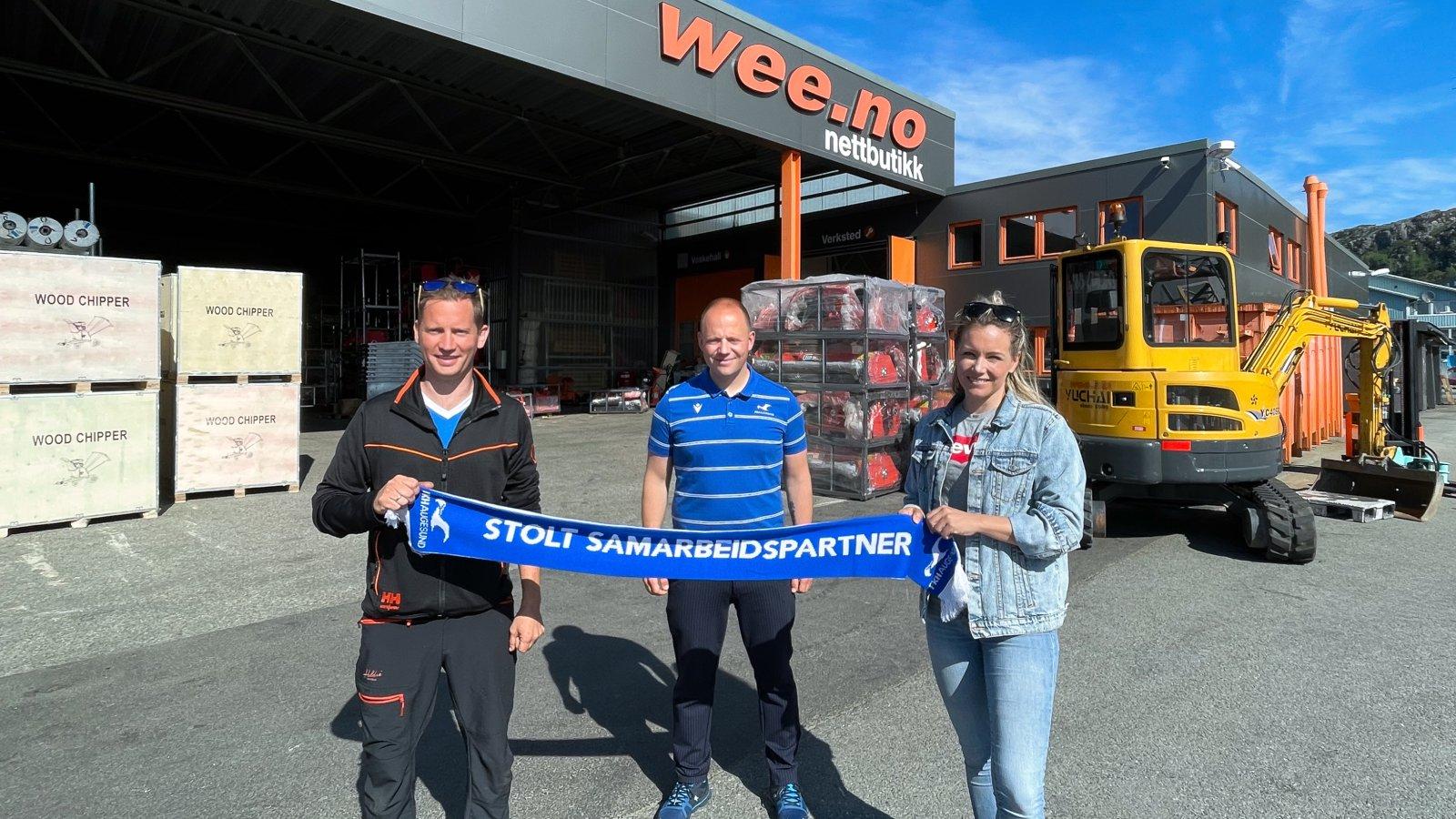 Fra venstre: Morten Wee, Martin Fauskanger og Vivian Wee Flatnes.